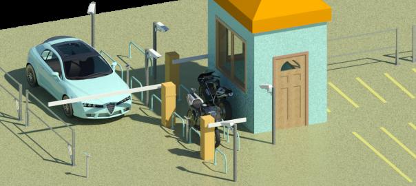 barier, phần mềm giữ xe thông minh, quản lý giữ xe ô tô,