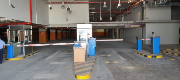 parking management software with RFID Mifare card