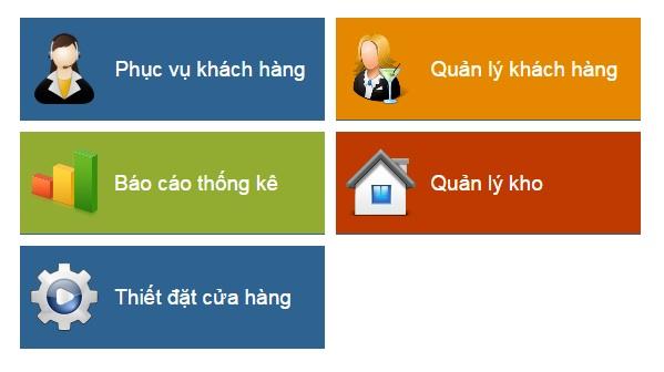 MENU phần mềm quản lý quán ăn, quản lý nhà hàng, quản lý caffe, quản lý bida, quản lý karaoke, phần mềm quản lý online