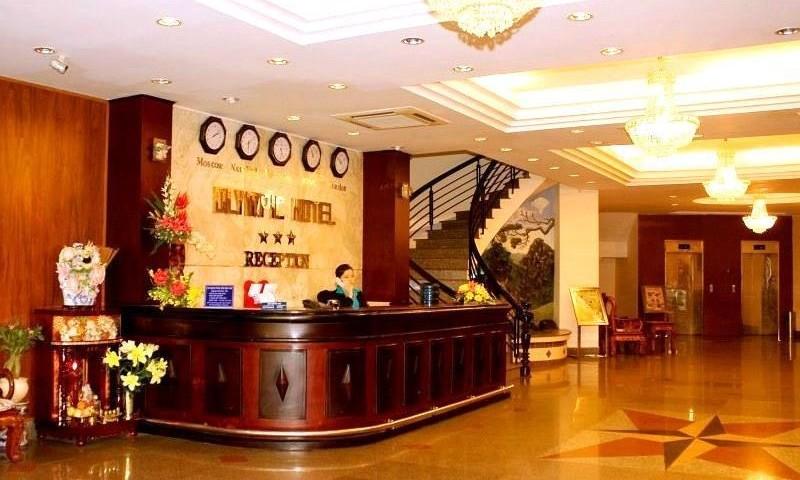 quản lý khách sạn bằng thẻ cảm ứng rfid