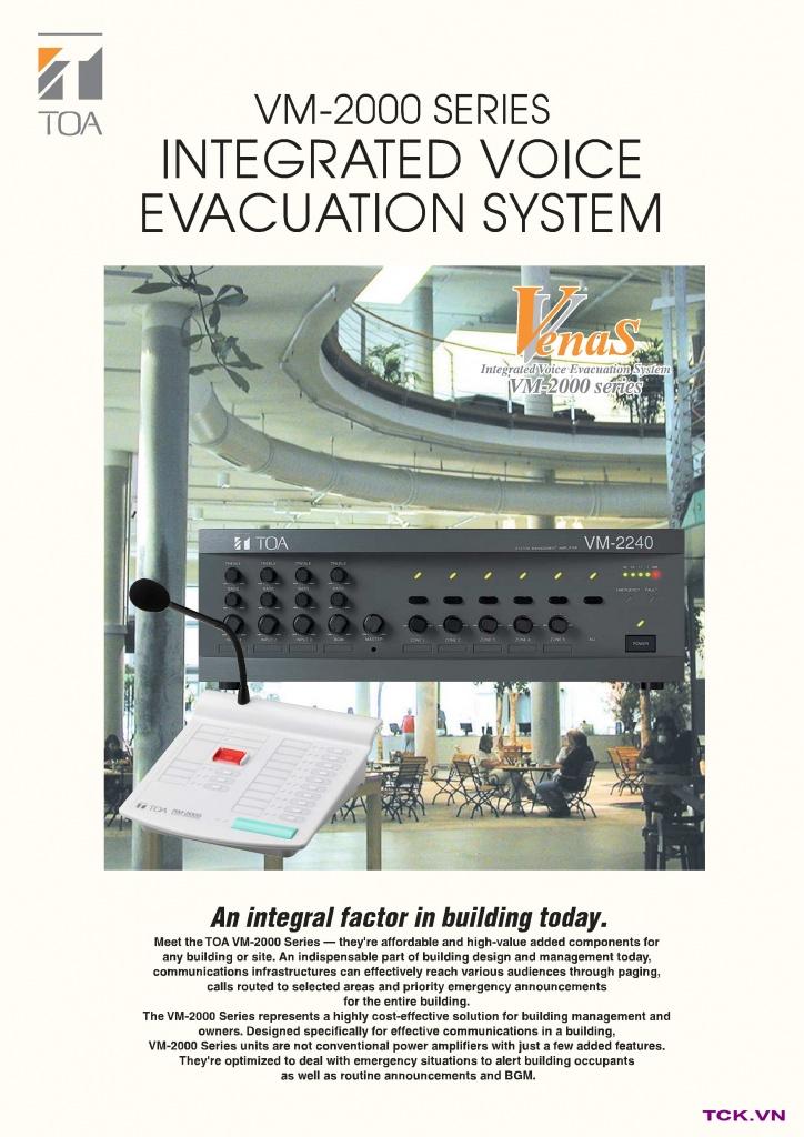 VM-2240_Hệ thống PA TOA