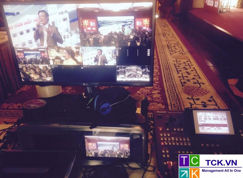 dịch vụ quay phim truyền hình trực tiếp youtube